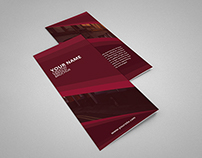 Creative Trifold Brochure For Free Psd