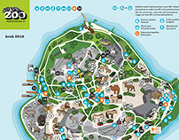 Updating the map of the Zoo, Korkeasaari Zoo