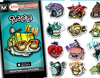 Guacala Emotees // sticker pack in Appstore