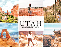 Utah Mobile & Desktop Lightroom Presets