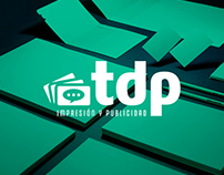 TDP · Impresión y publicidad