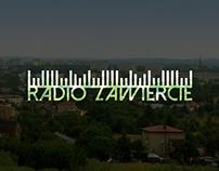 Logo Design concept for Internet Radio Zawiercie