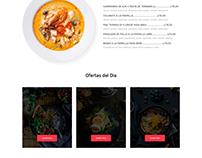 Diseño web - Restaurante