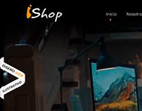 iShop Latam - Web Design