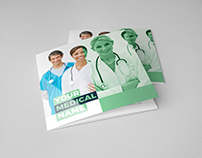 Medical Square Trifold Brochure
