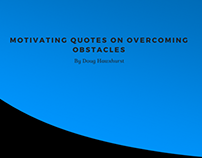 Motivating Quotes on Overcoming Obstacles