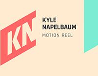Kyle Napelbaum Motion Reel