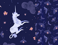 Dark Unicorn Pattern Collection