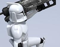 Clone Trooper Action Figures
