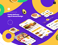 Foody Delivery App & Brand Design Ui/Ux