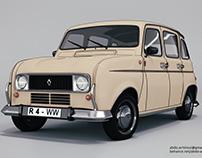 Renault 4 R-Model