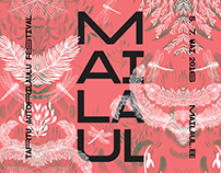 MAILAUL music festival identity & illustrations