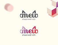 MEW Playground Cafe Branding