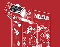 Nescafe Illustrations - Instant Move & Match 2014