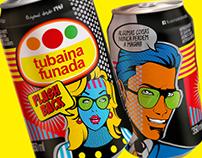 Nova embalagem - Tubaina Funada