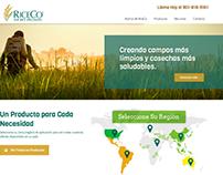 Versión en Español de Website RiceCo