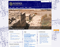 KommosConservancy.org Website Design