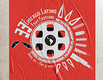 Chicago Latino Film Festival 2017 Logo and Poster