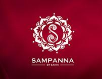 SAMPANNA BY SAKHI_logo design