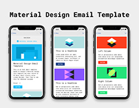 Free HTML Email Template - Material Design