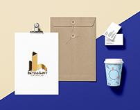 Beydağ&INT Ortaklığı Kurumsal Logo Tasarımı