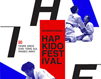 HIF HAPKIDO INTERNATIONAL FESTIVAL poster