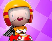 Auto Shopping Fórmula - Mascote 3D