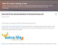 Extra Life 24 Hour Gaming Marathon - Allen Chi