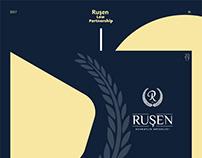 Ruşen Law Partnership Presentation Design