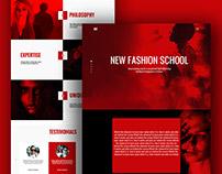 SST Fashion website redesign