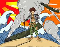 Character Poster (tunisian kamikaze)