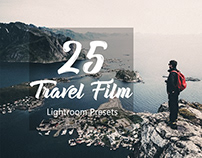 25 Travel film Lightroom Presets by HubaFilter