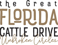 Logo for the Great Florida Cattle Drive - 2017