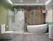 Bathroom Lotus by YS design