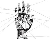 illustrations for book OLIVER SACKS (student project)