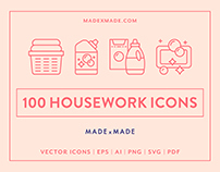 Line Icons – Housework