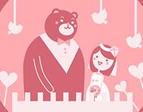 【Bucky & Vicky's Wedding】Opening Animation