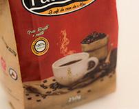 Embalagem do Café Padroeira