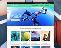 Sportboom Responsive Website