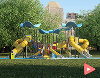 Buglo Ellipsum Playground - CGI 3D Animation