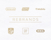 Famous Brands // Rebrands
