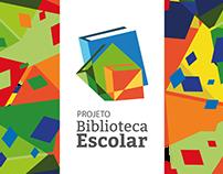 Branding Projeto Biblioteca Escolar e CIBES