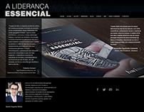 """Site do livro """"A Liderança Essencial"""""""