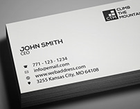 Freebie: Minimal Clean Business Card Template