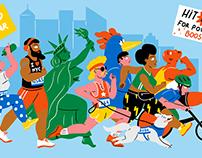 A History of the New York City Marathon // Culture Trip