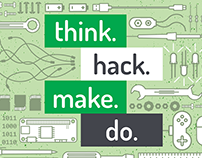 Workshop Flyer: think.. hack. make. do.