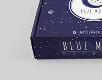 BLUE MOON PSYCHIC - LOGO, STATIONERY & PACKAGING