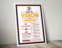 Wings Etc. Mission Statement Posters