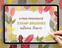Free Autumn Procreate & Graphics Bundle