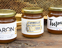 Turmiel - Packaging de miel pour un producteur local